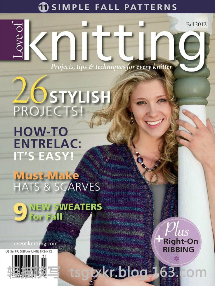 Love of Knitting  Fall 2012 Week-end swoncho