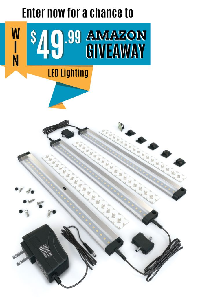 Get a chance to win EShineu0027s 3-Panel LED Under Cabinet Lighting with IR Sensor! Hand Wave Activated - Bright Strong and Stable ...  sc 1 st  Pinterest & 81 best LED Lighting with Hand Wave Activation images on Pinterest ... azcodes.com