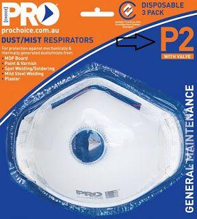 #asbestos kits - P2 Mask