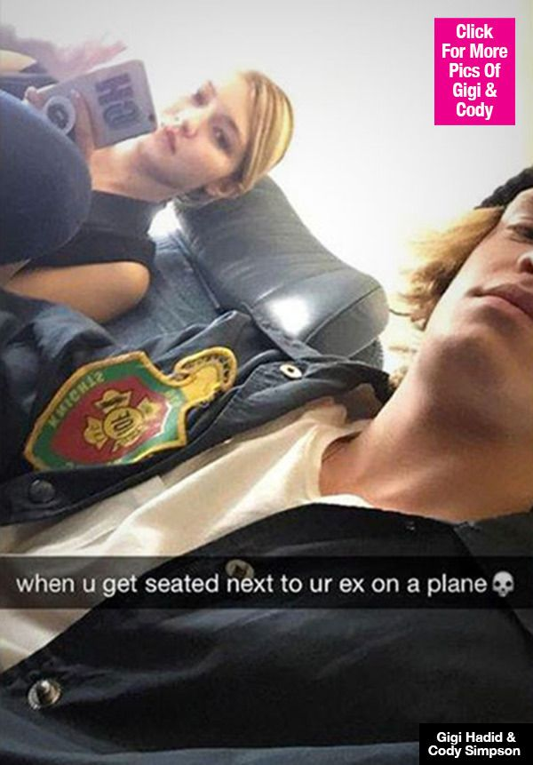 Gigi Hadid & Cody Simpson: Exes Awkwardly Get Seated Together On Plane — Pic