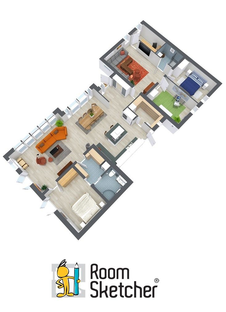 56 best images about floor plan software on pinterest for Professional floor plan software