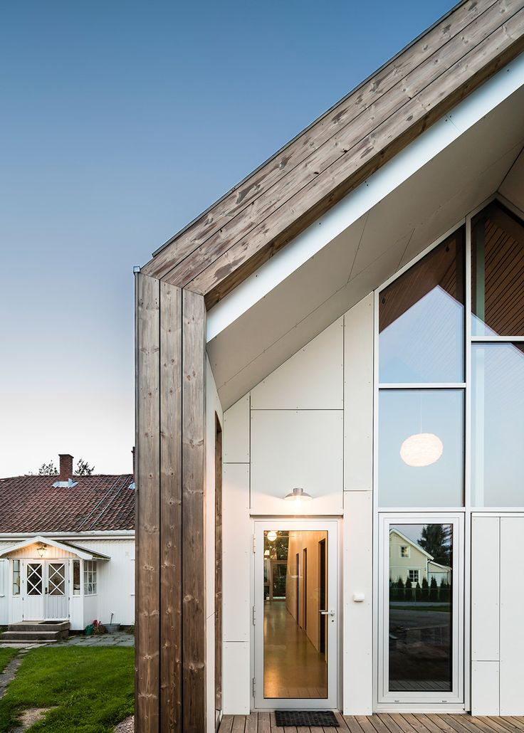 Link Arkitektur Adds Gabled Extension To Farmhouse In Norway. House  ExtensionsNorwayHouse Design19th ... Part 95