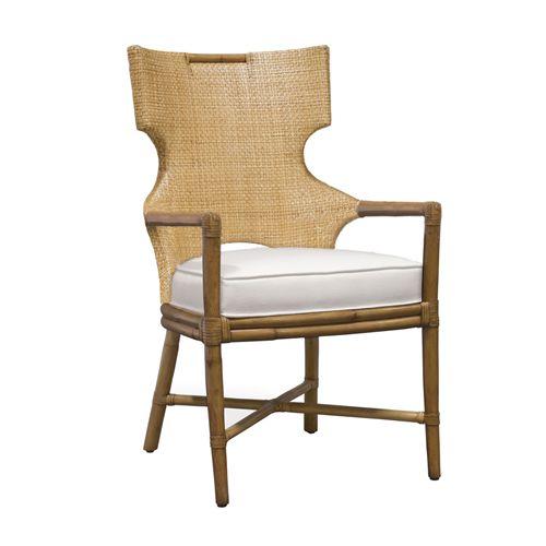 Palecek Caprice Honey Arm Chair