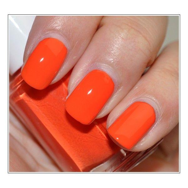 Essie Nail Polish Orange Shades: 25+ Unique Orange Nail Polish Ideas On Pinterest