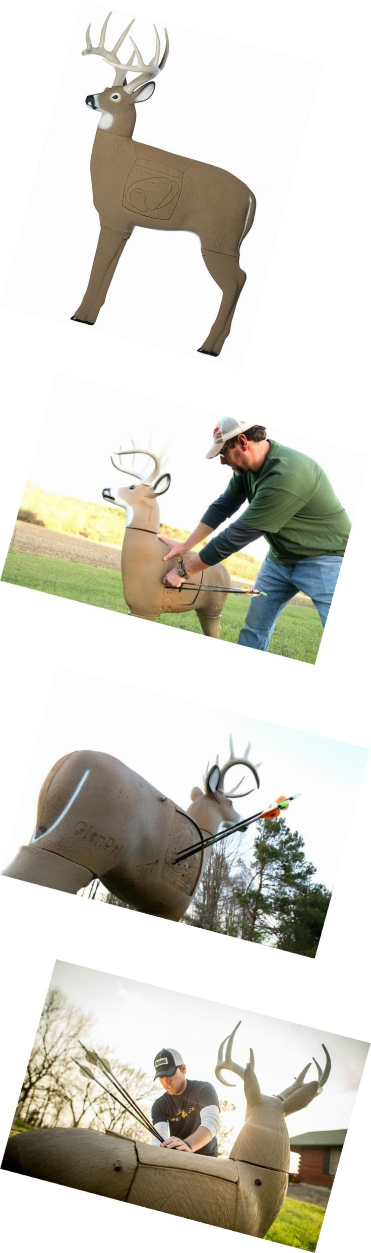 Targets 52480: Glendel Buck 3D Archery Target With Replaceable Insert Core -> BUY IT NOW ONLY: $191.66 on eBay!