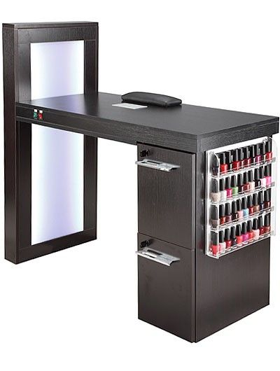 Manicure table mt 05 salon pinterest manicures and for Nail salon table