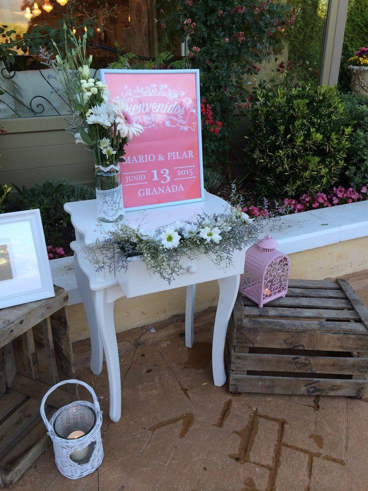 7 best kampai bodas mesas de bienvenida images on - Mesas de campo ...