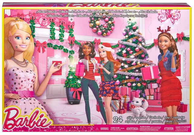 Barbie Advent Calendar, how fun for a barbie fan for the Holidays!