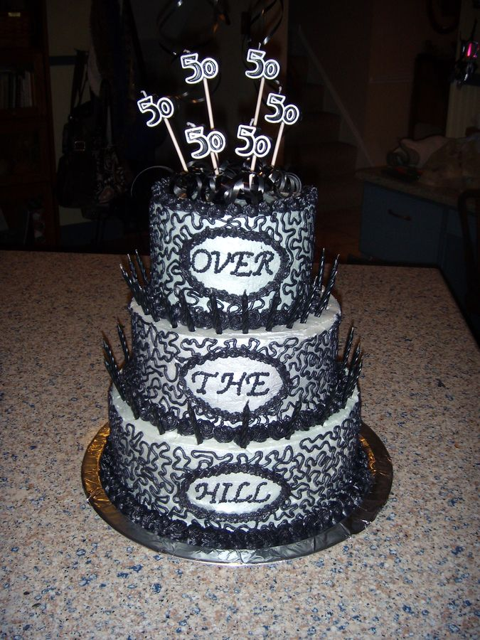 33 best Over the hill cakes images on Pinterest Birthday ideas
