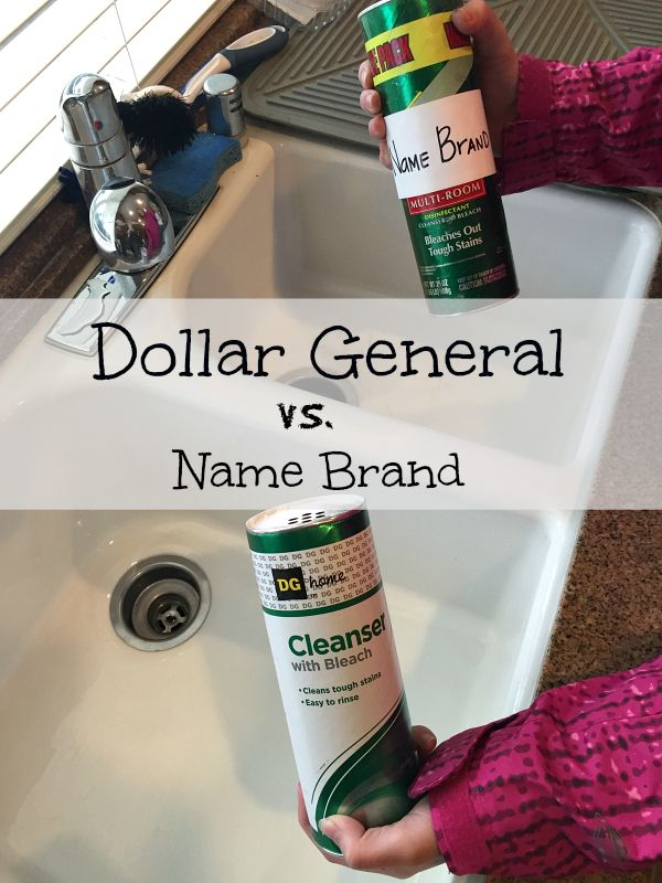 A good comparison of Dollar General versus name brand products and how they fair. Using home products and foods, I show you how similar they really are.