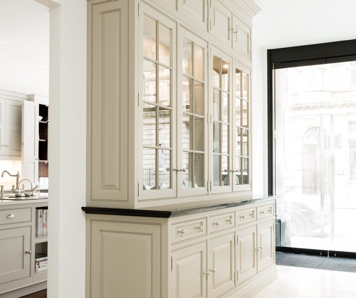 Luxury grand dresser bespoke fitted wardrobes tom for Small kitchen wardrobe