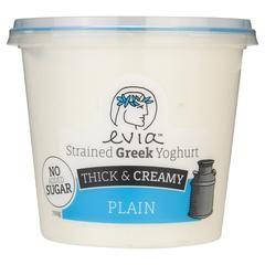 Evia Yogur de gelatina sin gruesas y cremosa llano 700g, Frdg2-Lácteos - HFM…