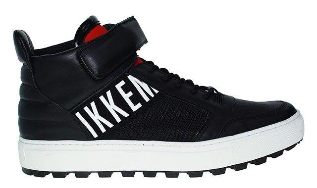 Bikkembergs High Top Sneaker   Track - schwarz   weiß