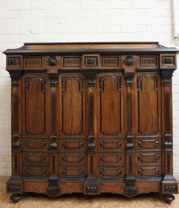«BersoАнтик» - Антикварный шкаф Наполеон III