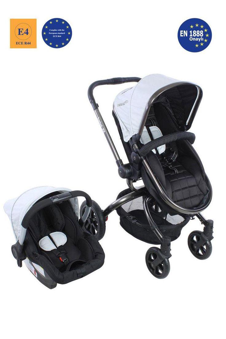 Kraft Twist XX Travel Sistem Bebek Arabası Gri #bebek #alışveriş #indirim #trendylodi #bebekarabası #puset  #anne #baba