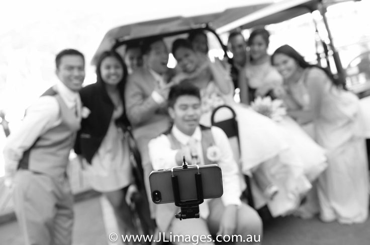 Check out this selfie! The phone needed its own extended arm to capture the fun times with this bridal party. Check out JL Images for more photographic experiences. #selfie #jlimages #photography #weddingphotography