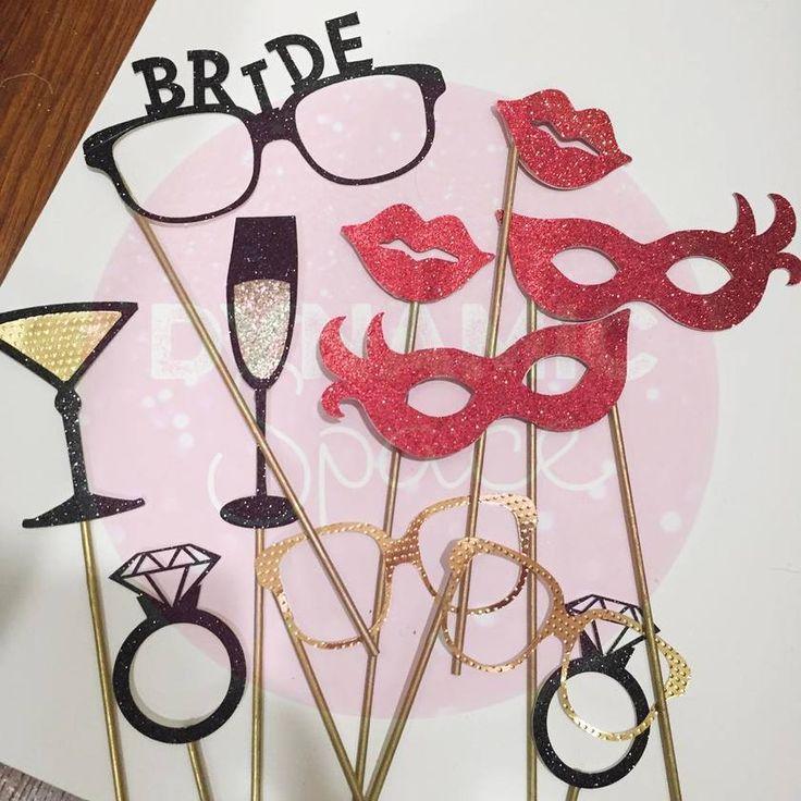 \インスタで見つけた/海外花嫁が作るポップで可愛いフォトプロップスのデザインアイデアまとめ♡にて紹介している画像