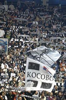 Kosovo is Serbia. Grobari Belgrade, KK Partizan.