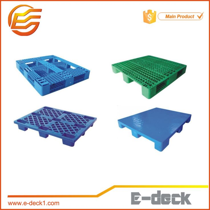 E-deck injection molded plastic pallet used plastic pallets for sale