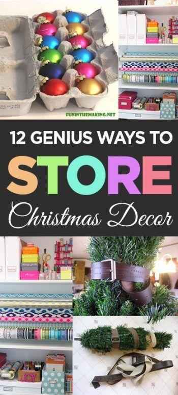 Christmas decor, DIY christmas, holiday hacks, popular pin, holiday organization, DIY organization, organization tips, organization hacks.