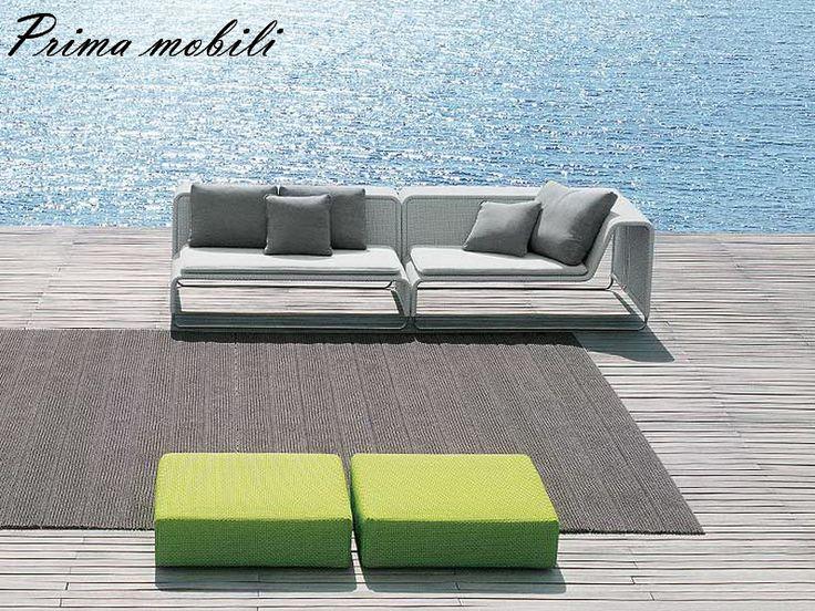 Итальянский садовый диван Island Paola Lenti купить в Москве в Prima mobili