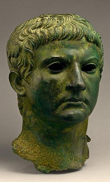 Bronze Head of M. Agrippa Period: Early Imperial, Julio-Claudian, 1st century C.E. Roman - Creo que fue el que mandó construir el Panteón.