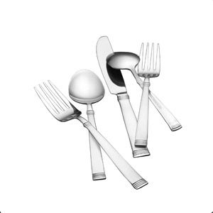 International Silver 84 Piece Palisades Flatware Set