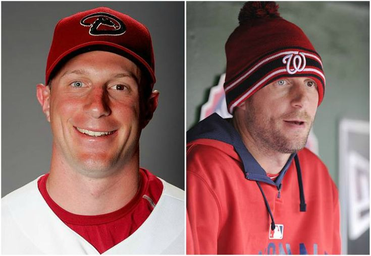 Max Scherzer's two colored eyes