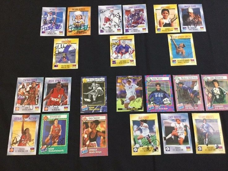 22 Sports Illustrated for Kids Autographed Olympics Cards All Women #Olympics