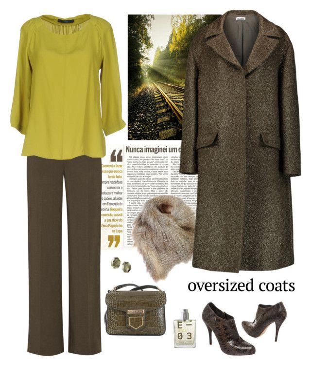 """""""Chic Oversized Coats"""" by lence-59 ❤ liked on Polyvore featuring Martha Medeiros, Jil Sander, The Row, Blue Les Copains, Christian Dior, Givenchy, Viktoria Hayman, Escentric Molecules and oversizedcoats"""
