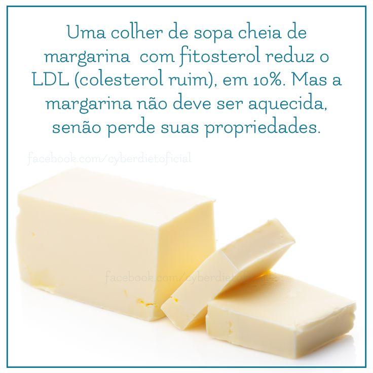Margarinas especiais reduzem o colesterol!