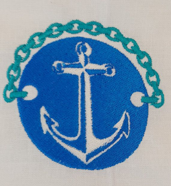 Digital Embroidery Designs  Anchor in by EmbroideryDesignsBRN