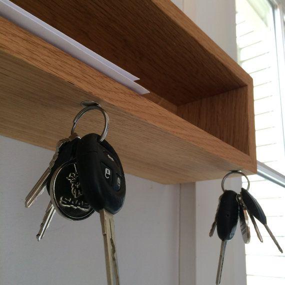 Amazing Key Rack with Mail Shelf!