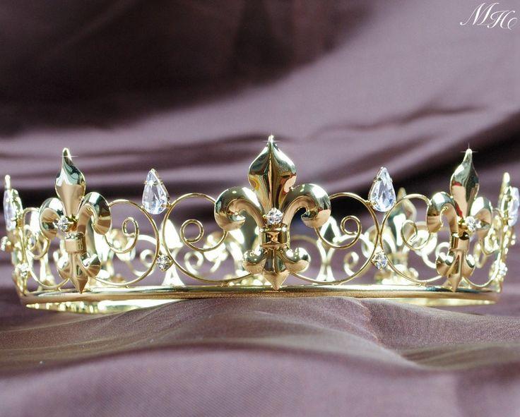 tiara voor mannen gold plating volledige cirkel middeleeuwse keizerlijke kroon bruiloft optocht bruids prom partij hoofdband sluier in tiara voor mannen gold plating volledige cirkel middeleeuwse keizerlijke kroon bruiloft optocht bruids prom partij hoofd van haar sieraden op AliExpress.com | Alibaba Groep