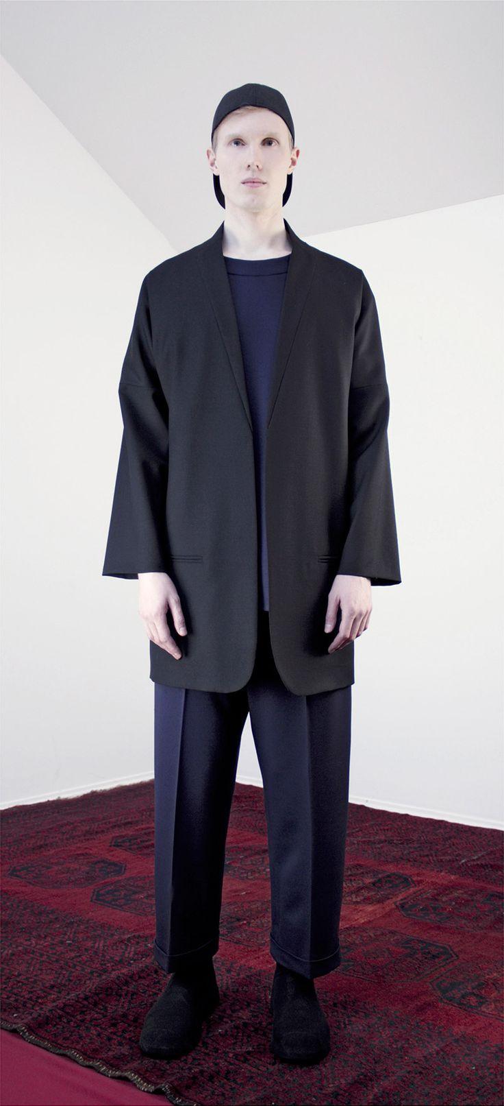 Lucio Vanotti 'FW 2014- black jacket - at guyafirenze.com