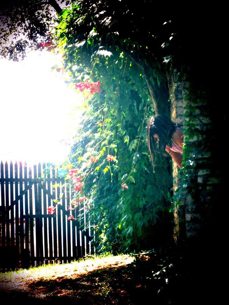 Il giardino nascosto, Lesignano Bagni (Pama) Italy
