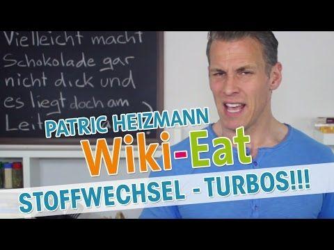 Die besten TURBOS für deinen STOFFWECHSEL - Wiki-Eat mit Patric Heizmann - YouTube