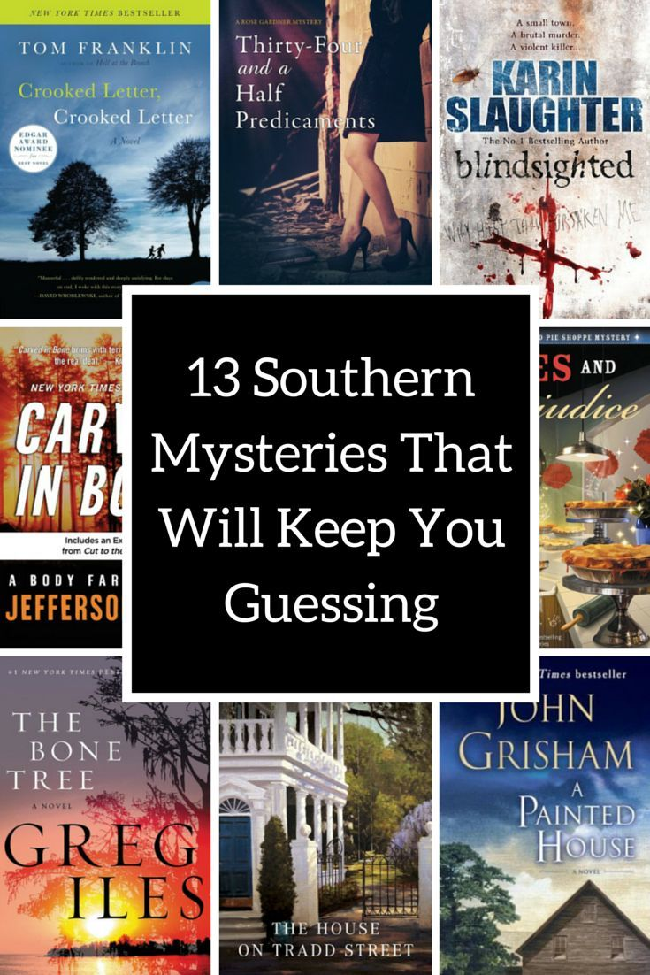 Southern mysteries to add to your reading list!