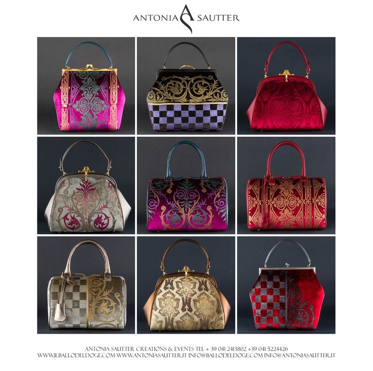Antonia Sautter - Bags Collection