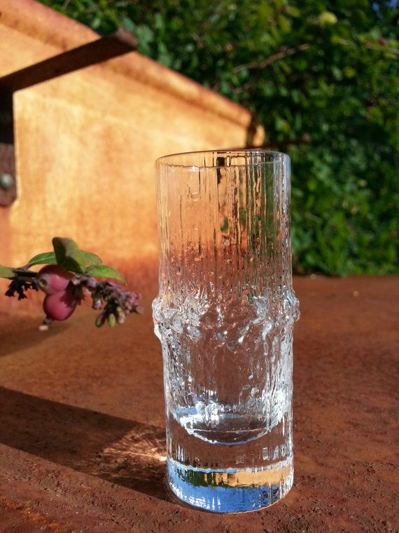 Vintage Iittala glass Niva cordial shot glass.. by fcollectables, €7.50