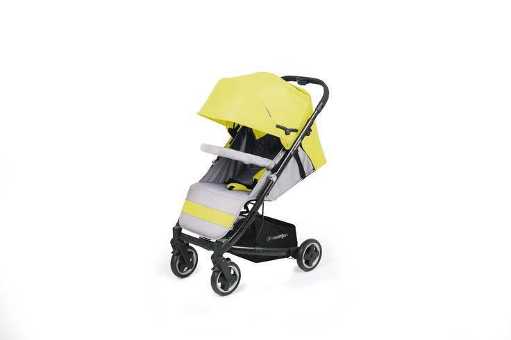 Lekka i przestronna spacerówka  Wózek dziecięcy Scooner  Kolor: Ibiza
