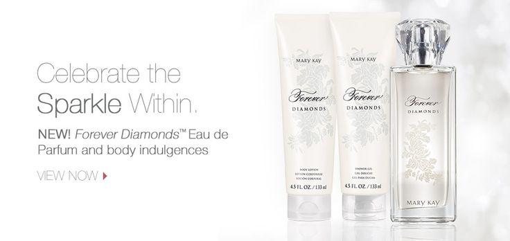 Forever Diamonds™ Eau de Parfum and body indulgences