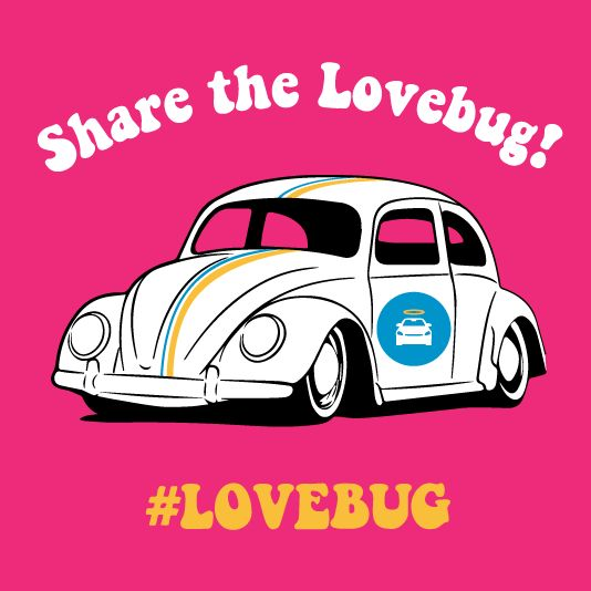With Valentines Day coming up on Saturday, we want to encourage everyone to spread the love this week. Start by repinning :)  ‪#‎lovebug‬ ‪#‎loveapalooza‬ ‪#‎randomacts‬ ‪#‎carvana‬