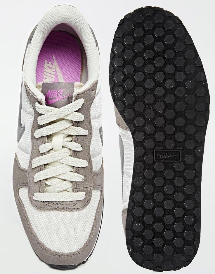 Изображение 3 из Серо-розовые кроссовки Nike Genicco