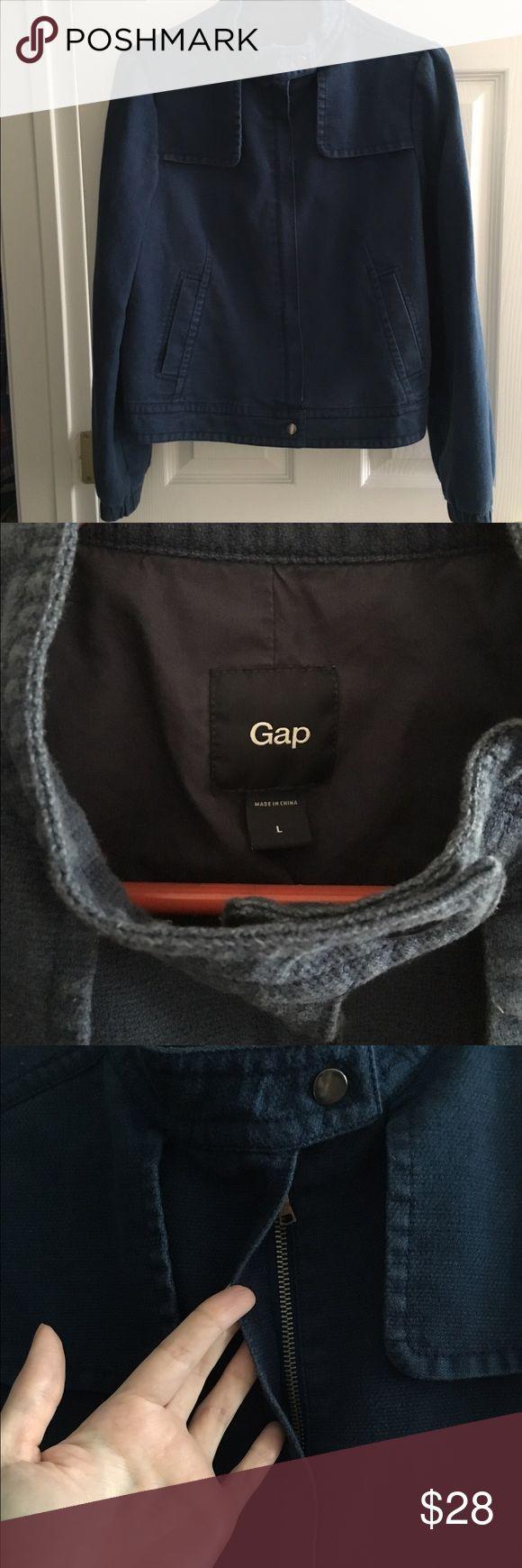 Gap Jacket Size L Gap Jacket. Blue, Size Large. In good used condition. GAP Jackets & Coats