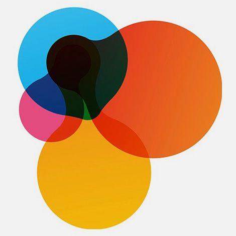 tasteful gradient and shape