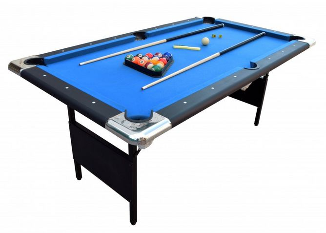 Check out the Fairmont 6' Portable Pool Table! http://directgametables.com/fa6popota.html