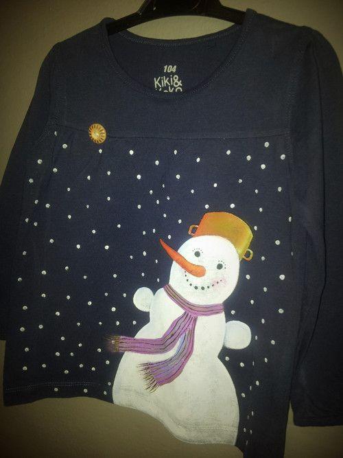 Mamííí, sněžíííí !