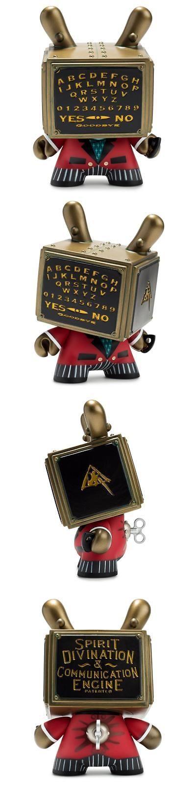 Designer and Urban Vinyl 158672: Kidrobot Talking Board 5 Dunny Vinyl Figure ~ Doktor A, Ouija ~ 1000 Pcs, New -> BUY IT NOW ONLY: $37.95 on eBay!