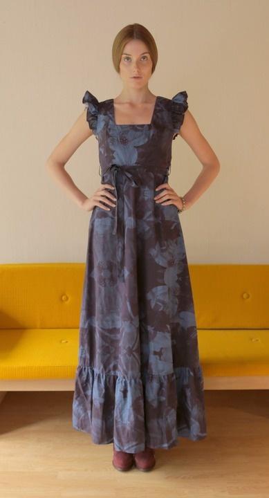 Lookbook shot of the Joliene dress by Ivana Helsinki.